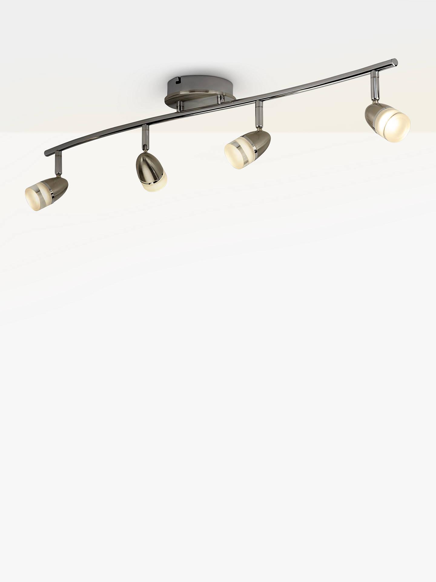 the best attitude bb8bd 87db0 John Lewis & Partners Avenger LED 4 Spotlight Ceiling Bar