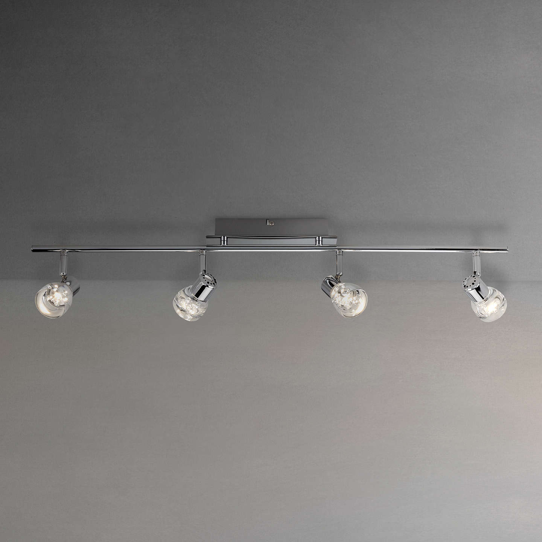 John lewis cammi led spotlight bar 4 light chrome at john lewis buyjohn lewis cammi led spotlight bar 4 light chrome online at johnlewis aloadofball Images