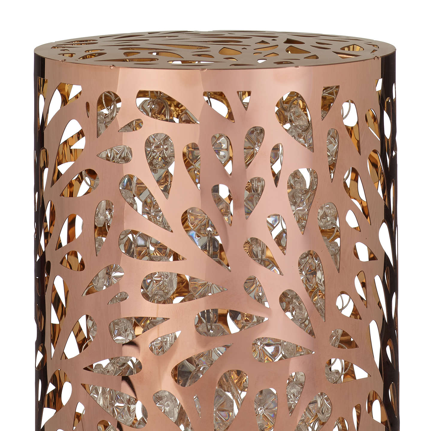 BuyJohn Lewis Destiny Touch Lamp, Copper Online at johnlewis.com
