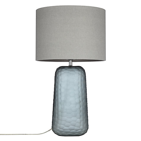 Buy John Lewis Lucian Frosted Glass Table Lamp, Grey Online at johnlewis.com