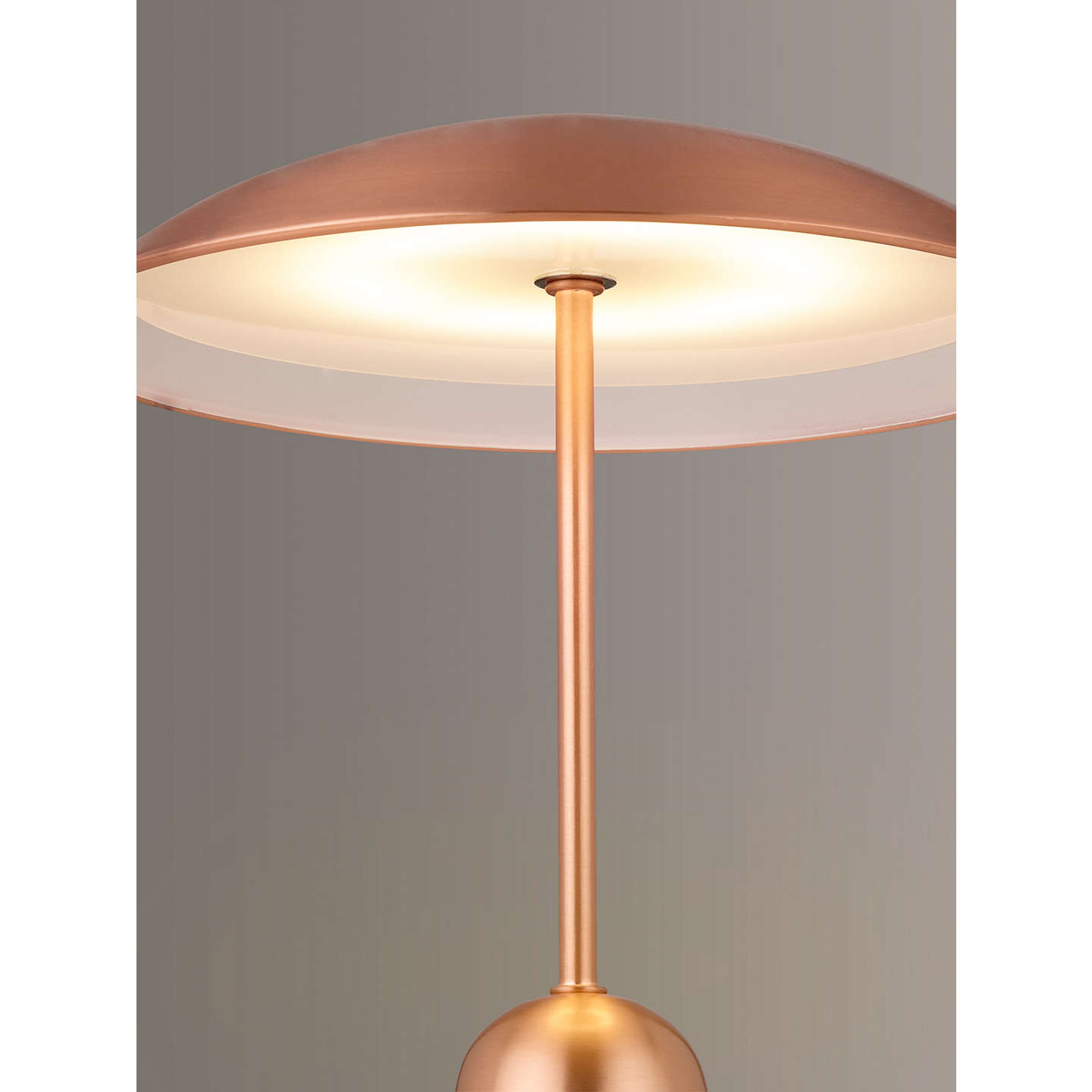 BuyDesign Project by John Lewis No.053 Table Lamp, Copper Online at johnlewis.com