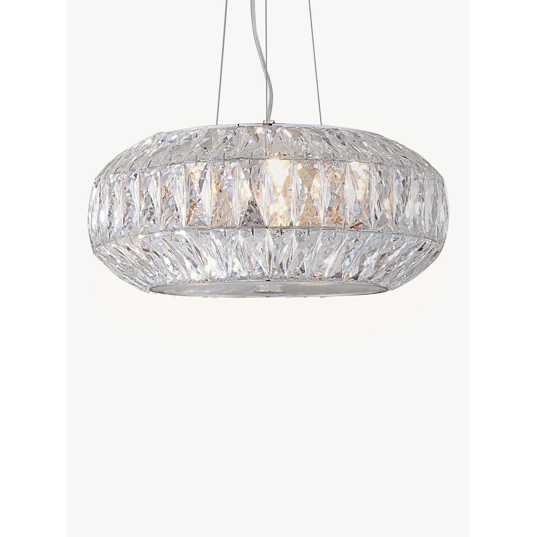 searchlight crystal modern clover image lighting led ceilings ceiling chrome light lights