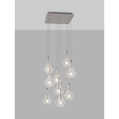 buy john lewis jensen 9 pendant led cluster ceiling light. Black Bedroom Furniture Sets. Home Design Ideas