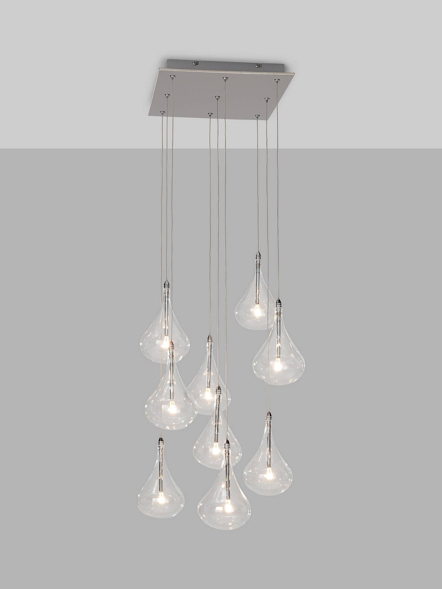 10c21cb181d0 Buy John Lewis & Partners Jensen 9 Pendant LED Cluster Ceiling Light,  Chrome Online at ...