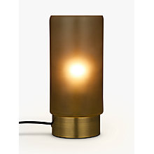 Buy John Lewis Soraya Touch Lamp, Green Online at johnlewis.com