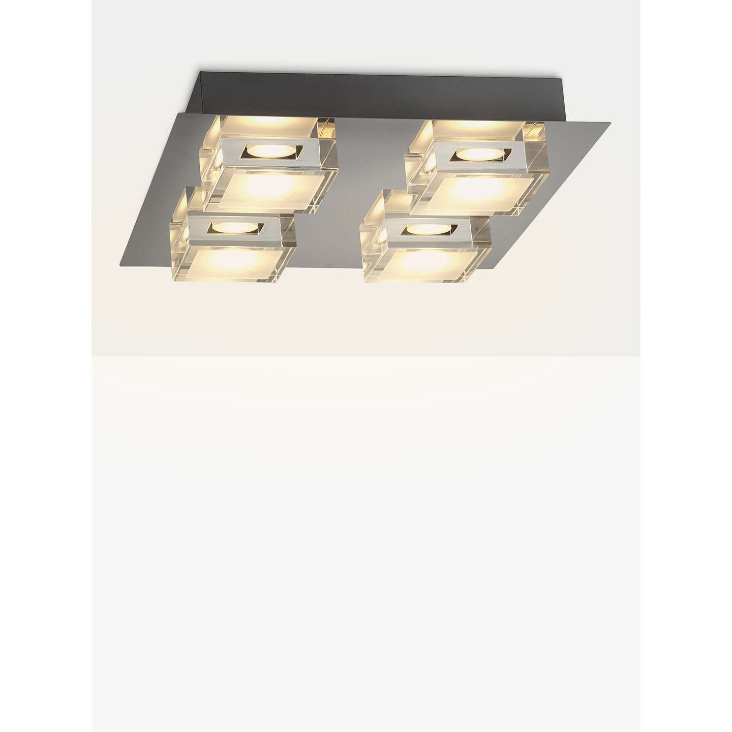 led bathroom lights ceiling lewis arlo led bathroom ceiling light chrome at 19162