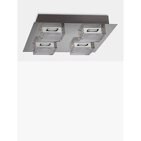 Bathroom Ceiling Lights John Lewis buy john lewis arlo led bathroom ceiling light, chrome | john lewis