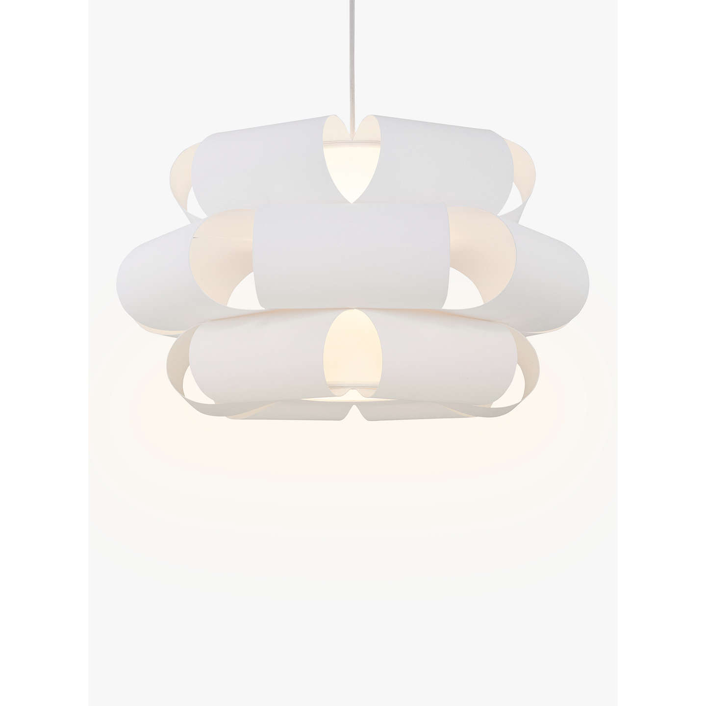 Design Project by John Lewis No.133 Easy-to-Fit Ceiling Shade at ...