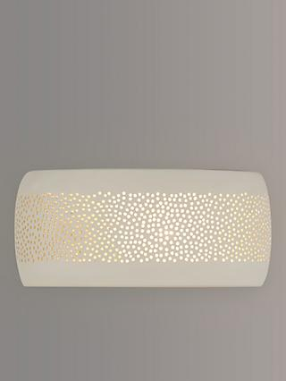 John Lewis & Partners Flynn Wall Light, Cream