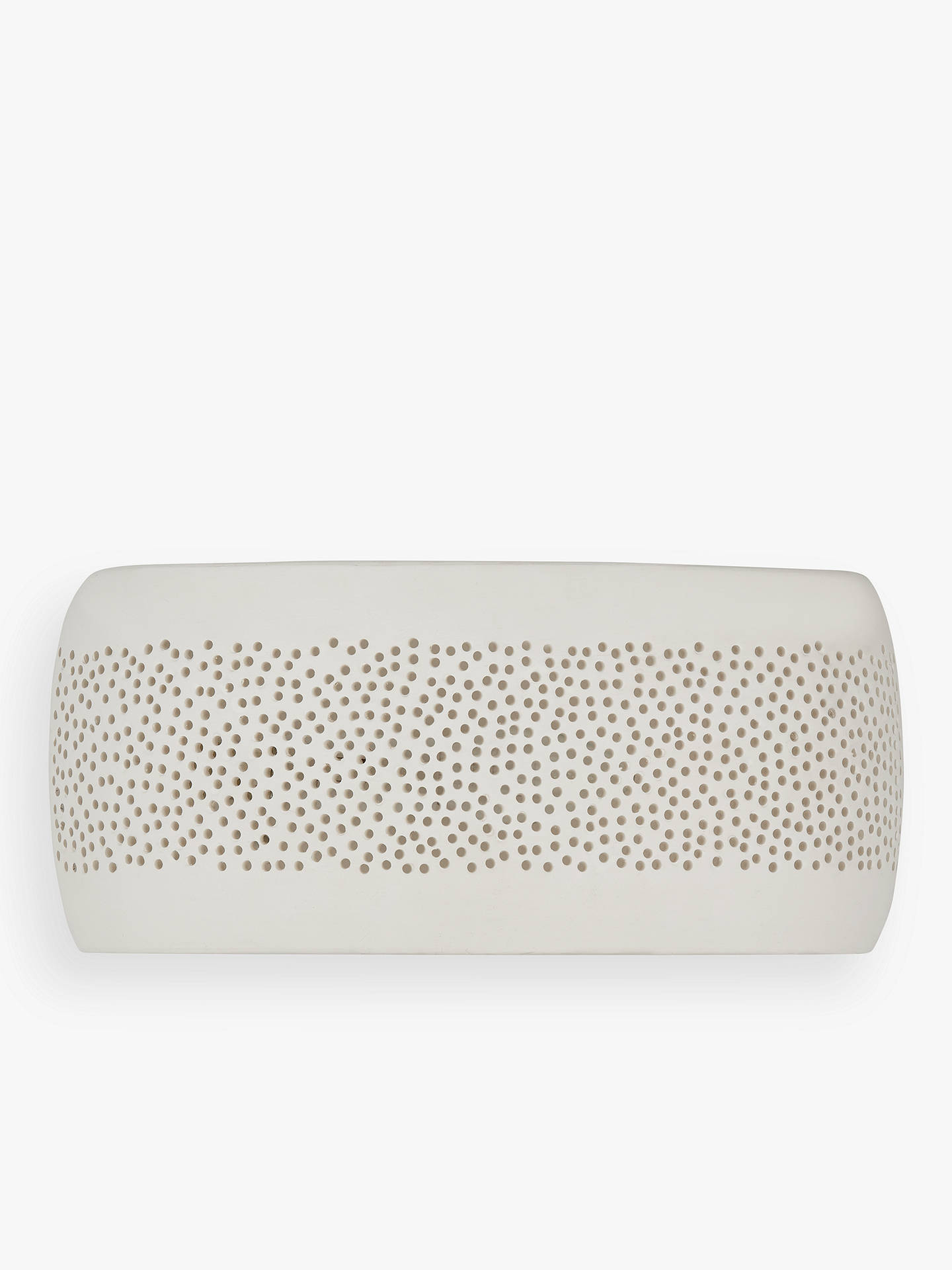 Buy John Lewis & Partners Flynn Wall Light, Cream Online at johnlewis.com