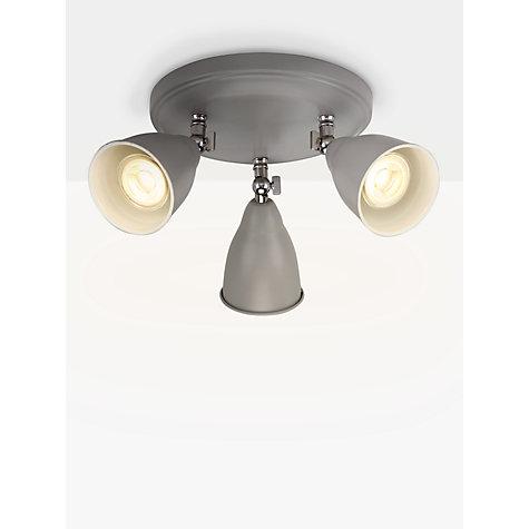 Buy John Lewis Plymouth LED Spotlight 3 Light Grey / Satin Nickel Online at ... & Buy John Lewis Plymouth LED Spotlight 3 Light Grey / Satin ... azcodes.com