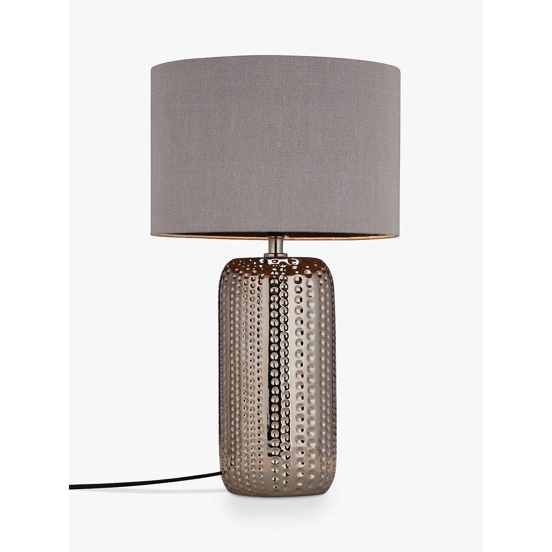John lewis sabrina dimple ceramic table lamp chrome at john lewis buyjohn lewis sabrina dimple ceramic table lamp chrome online at johnlewis aloadofball Images