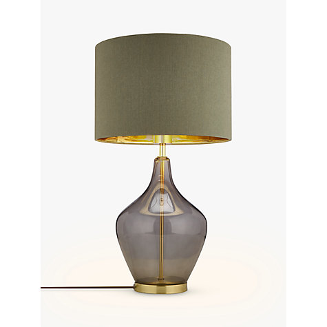 Buy John Lewis Ursula Table Lamp Smoked Glass