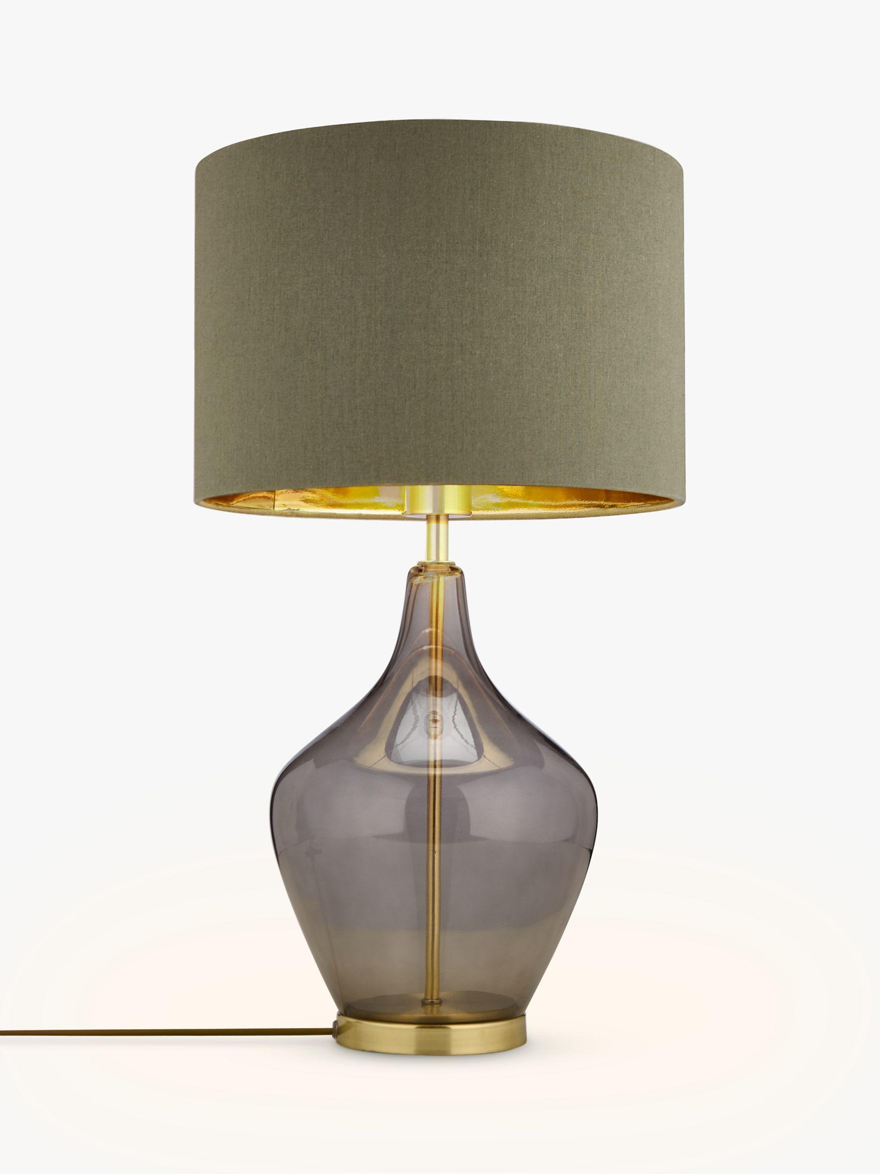 Glass Table Lamp John Deere : John lewis ursula table lamp smoked glass bluewater £