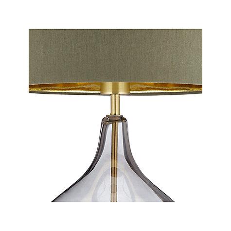 Buy John Lewis Ursula Table Lamp Smoked Glass John Lewis