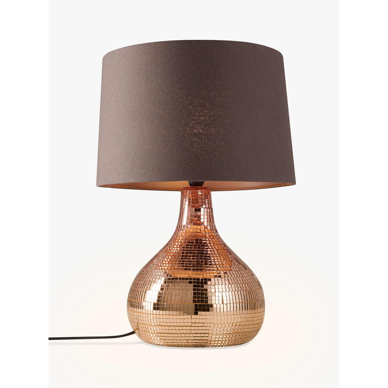 John lewis kiera table lamp copper at john lewis buyjohn lewis kiera table lamp copper online at johnlewis mozeypictures Images