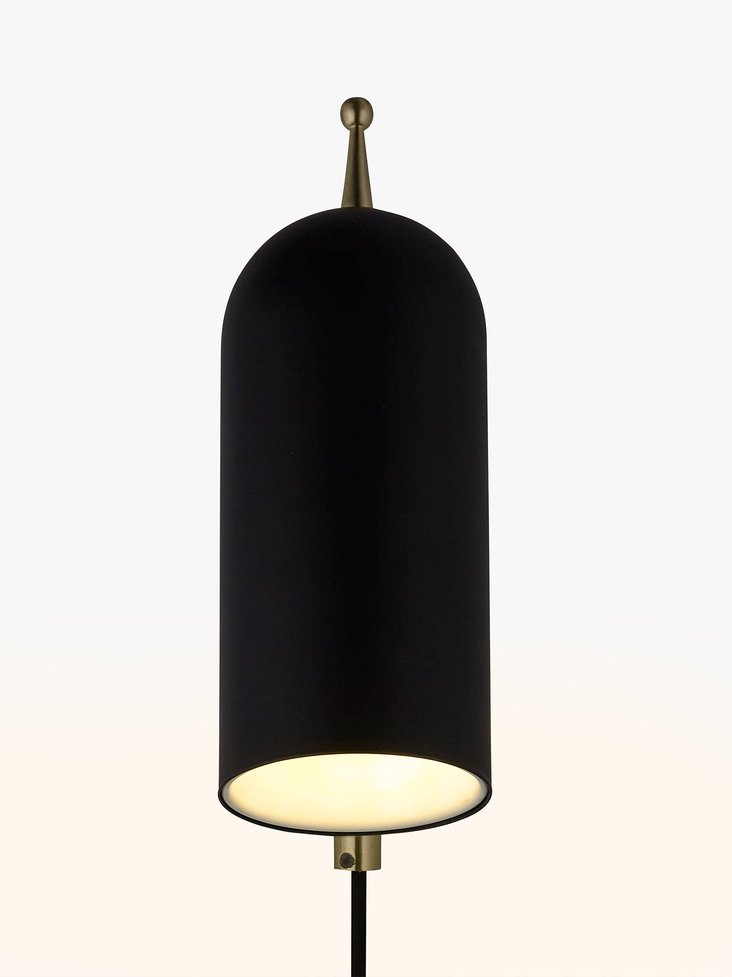 BuyDesign Project by John Lewis No.045 LED Wall Light, Black Online at johnlewis.com
