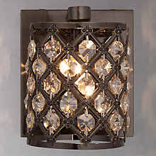 Buy John Lewis Gigi Crystal Wall Light Online at johnlewis.com