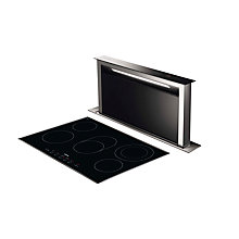 Buy Smeg KDD90VXE-2 Integrated Downdraft Cooker Hood, Stainless Steel Online at johnlewis.com