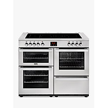 Buy Belling Cookcentre 110E Electric Range Cooker with Ceramic Hob Online at johnlewis.com