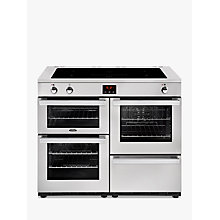 Buy Belling Cookcentre 110EI Electric Range Cooker With Induction Hob Online at johnlewis.com