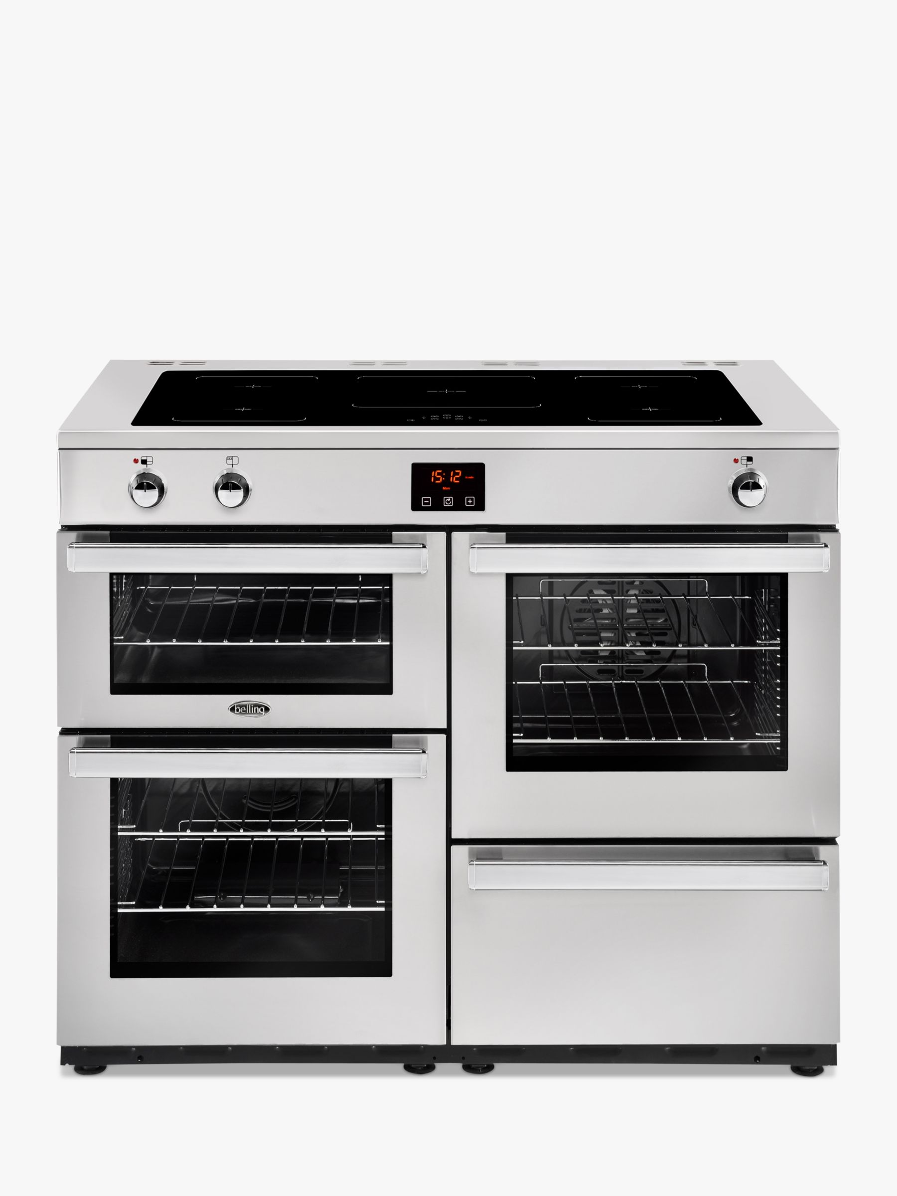 Belling Belling Cookcentre 110EI Electric Range Cooker With Induction Hob