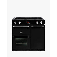 Buy Belling Farmhouse 90EI Electric Induction Range Cooker Online at johnlewis.com