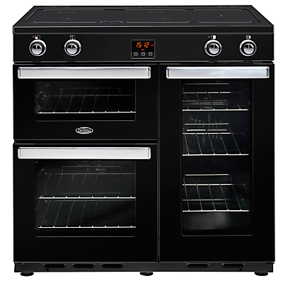 Image of Belling Cookcentre 90EI Electric Range Cooker With Induction Hob