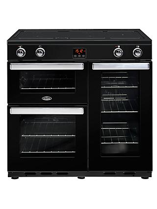 Belling Cookcentre 90EI Electric Range Cooker With Induction Hob