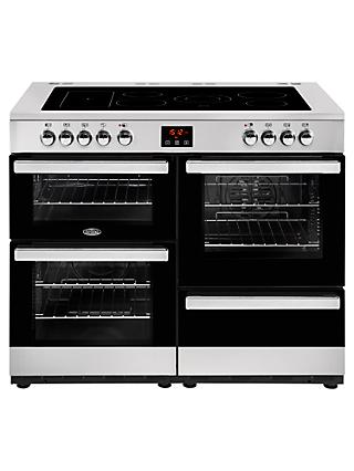 Belling Cookcentre 110E Electric Range Cooker with Ceramic Hob