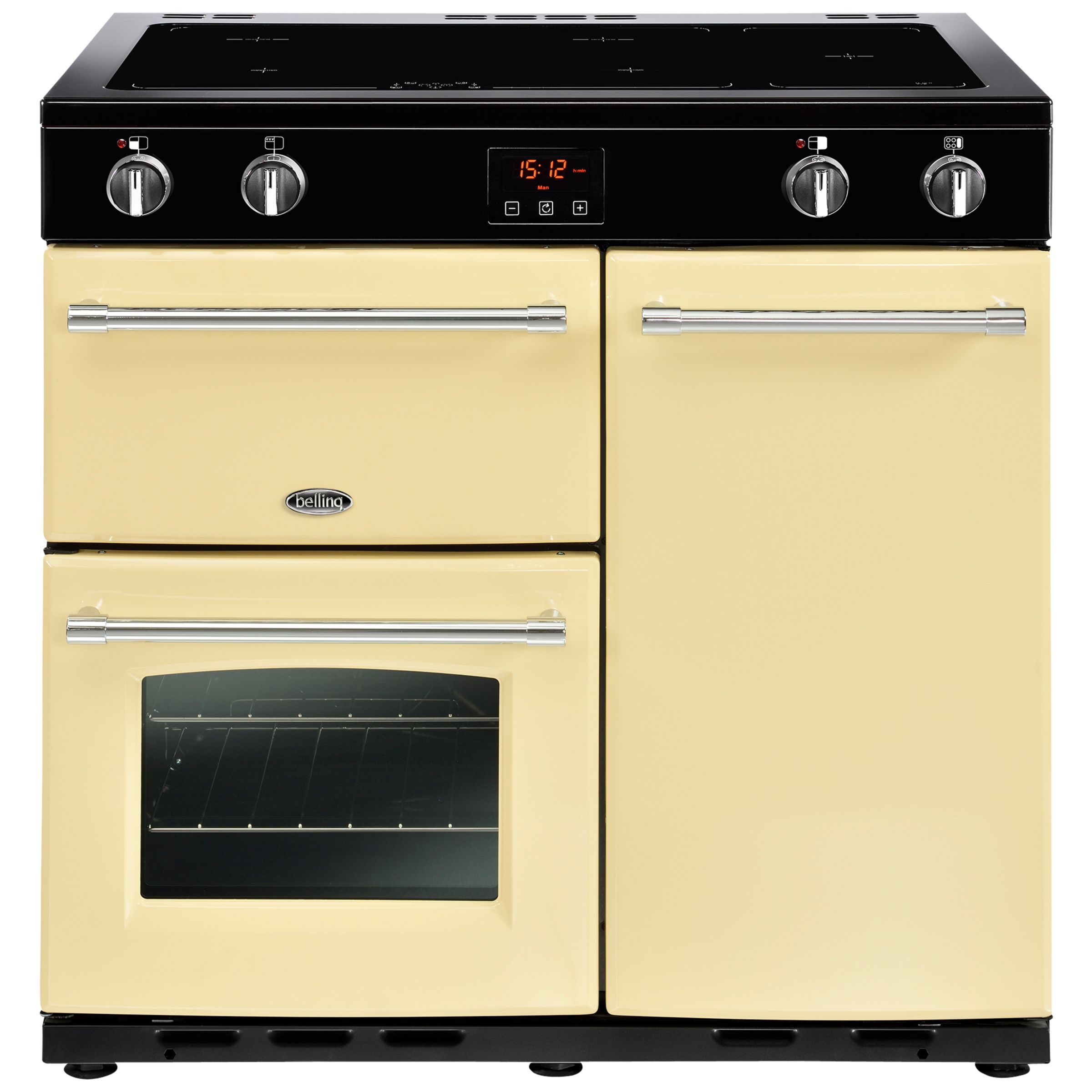 Belling Belling Farmhouse 90EI Electric Induction Range Cooker
