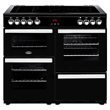 Buy Belling Cookcentre 100E Electric Range Cooker with Ceramic Hob Online at johnlewis.com