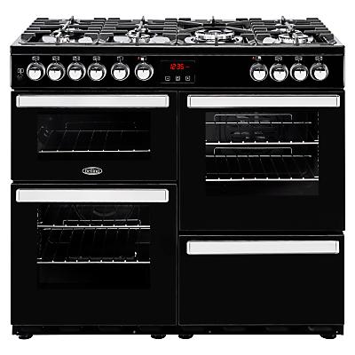 Image of Belling Cookcentre 100DFT Dual Fuel Range Cooker
