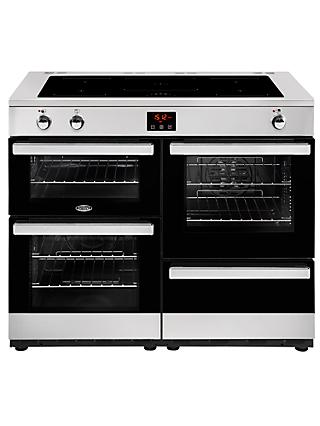 Belling Cookcentre 110EI Electric Range Cooker With Induction Hob