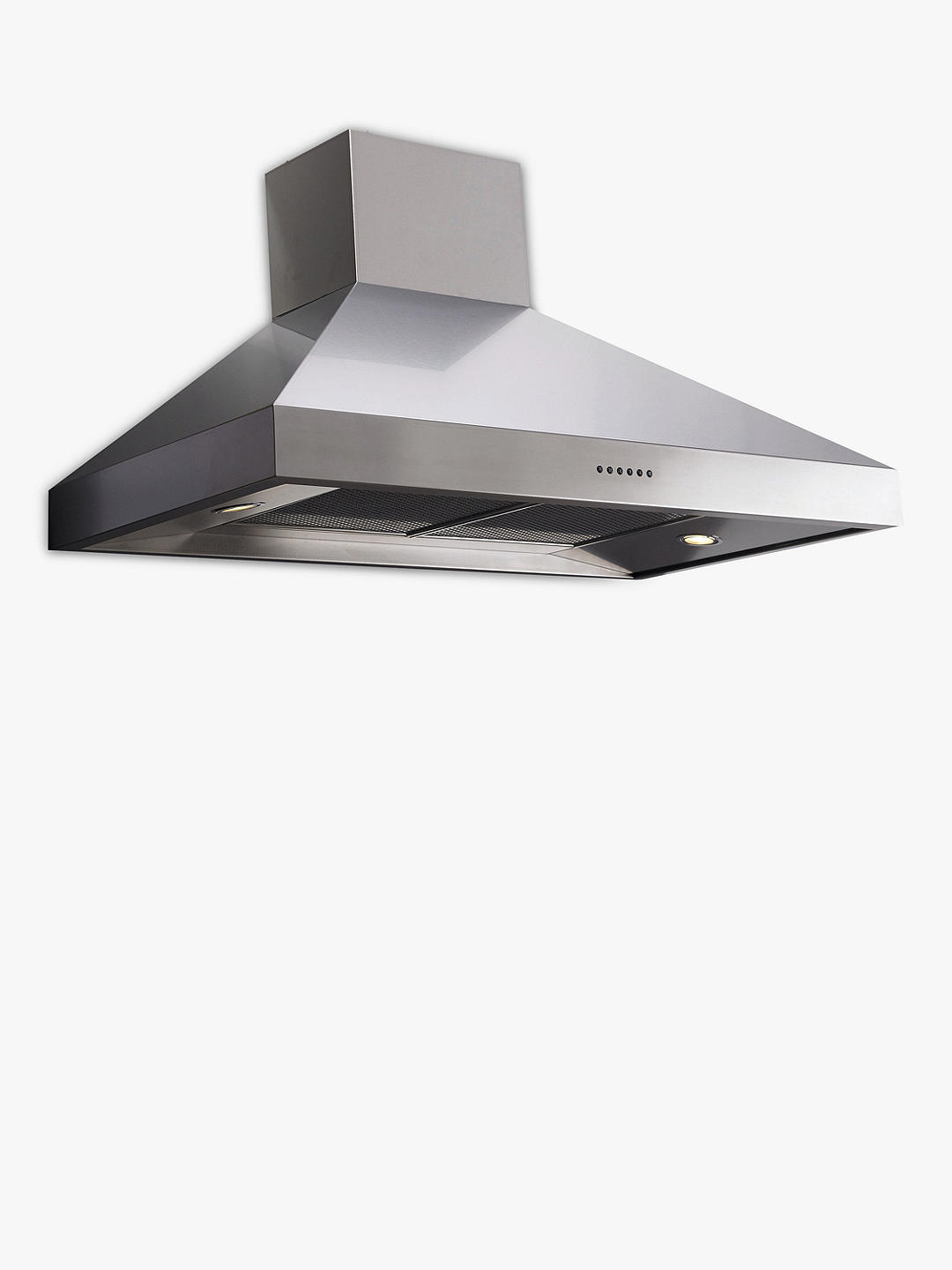Buy Britannia HOOD-BTH120-S Latour Chimney Cooker Hood, Stainless Steel Online at johnlewis.com