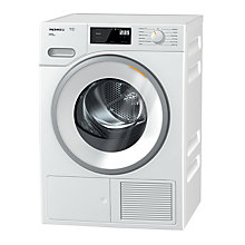 Buy Miele TWF620WP Heat Pump Tumble Dryer, 8kg Load, A+++ Energy Rating, White Online at johnlewis.com