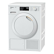 Buy Miele TCE620WP Heat Pump Freestanding Tumble Dryer, 8kg Load, A+++ Energy Rating, White Online at johnlewis.com