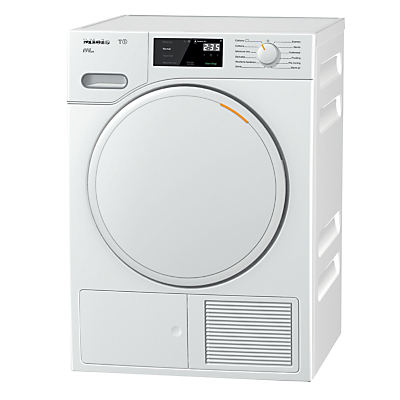Image of Miele TWE620WP Freestanding Heat Pump Tumble Dryer, 8kg Load, A+++ Energy Rating, White