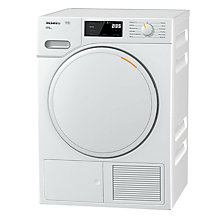 Buy Miele TWE620WP Freestanding Heat Pump Tumble Dryer, 8kg Load, A+++ Energy Rating, White Online at johnlewis.com
