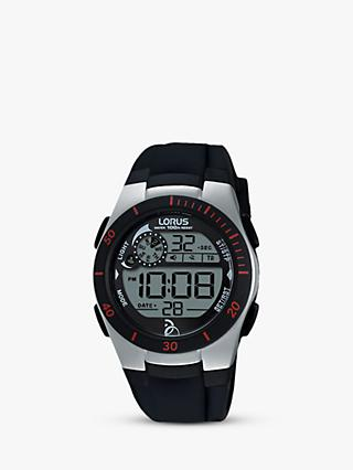 Lorus Children's Digital Silicone Strap Watch