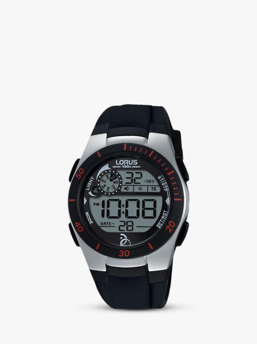 Lorus Lorus Children's Digital Silicone Strap Watch