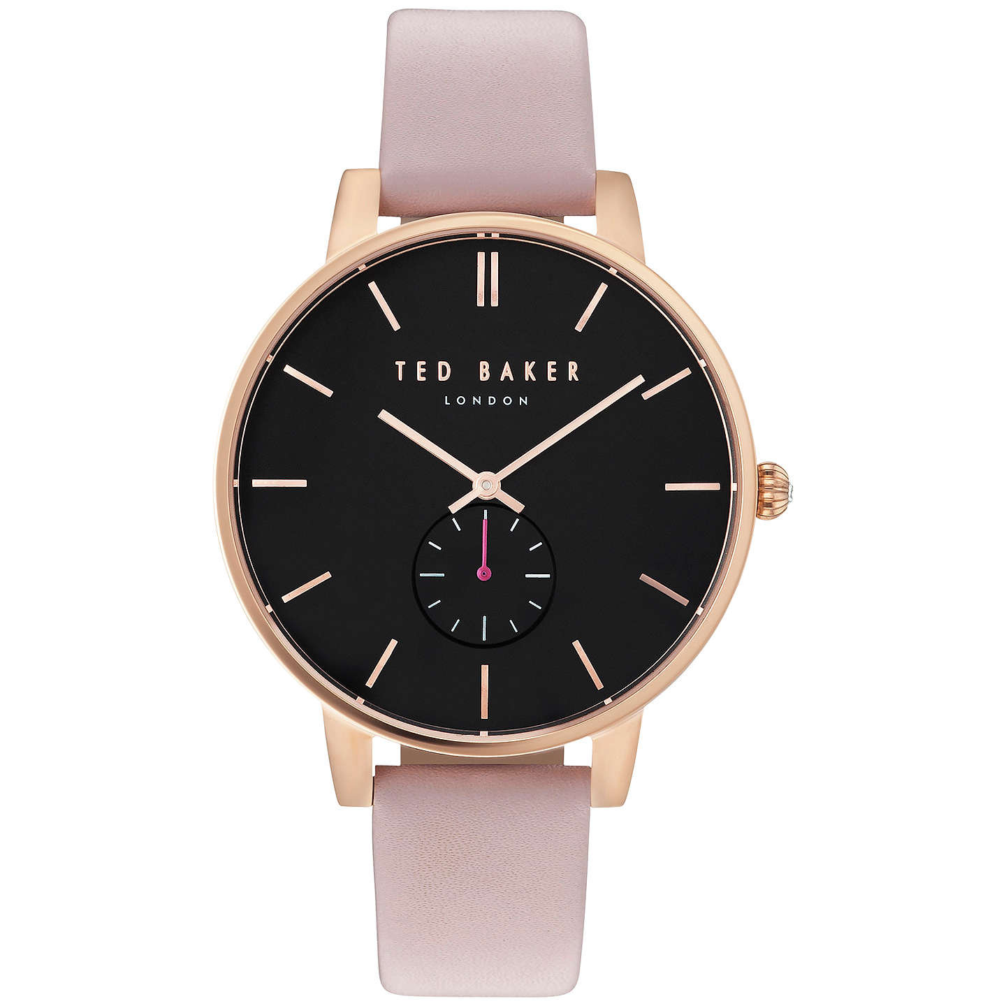 watch watches main image leather multifunction baker pin london ted strap