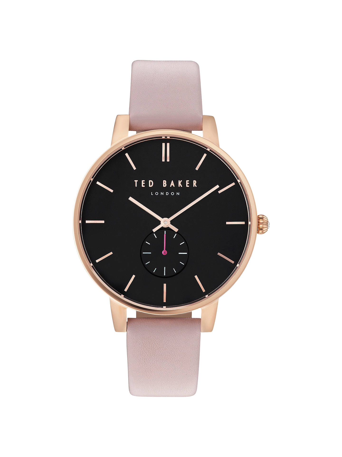 d4ed9c76050d Ted Baker Women s Olivia Leather Strap Watch at John Lewis   Partners