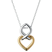 Buy Links of London Infinite Love Pendant Necklace, Silver/Gold Online at johnlewis.com