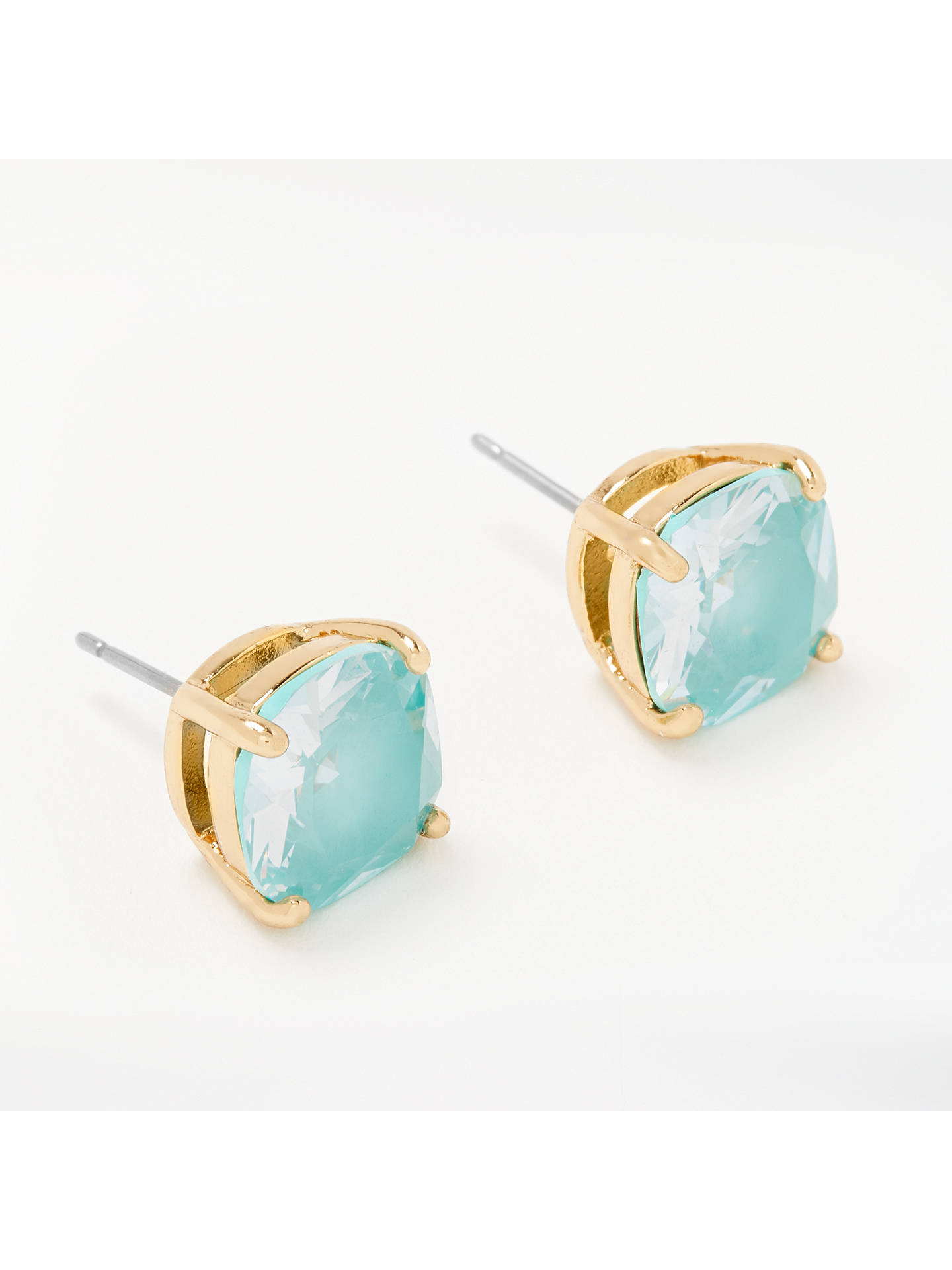 2ddfaa0311802d Buy kate spade new york Mini Square Stud Earrings, Mint Online at  johnlewis.com ...