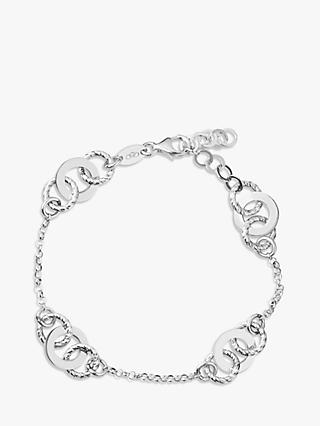 Links of London Aurora Link Chain Bracelet, Silver