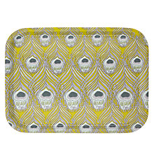 Buy Liberty Fabrics & John Lewis Caesar Chinois Citrine Tray Online at johnlewis.com