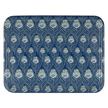 Buy Liberty Fabrics & John Lewis Caesar Rich Blue Tray Online at johnlewis.com