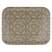 Buy Liberty Fabrics & John Lewis Lodden Flower Indigo Tray Online at johnlewis.com