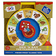 Buy Fisher-Price Classics See 'N Say The Farmer Says Online at johnlewis.com